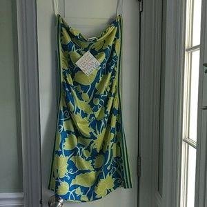 Gretchen Scott Designs strapless jersey dress